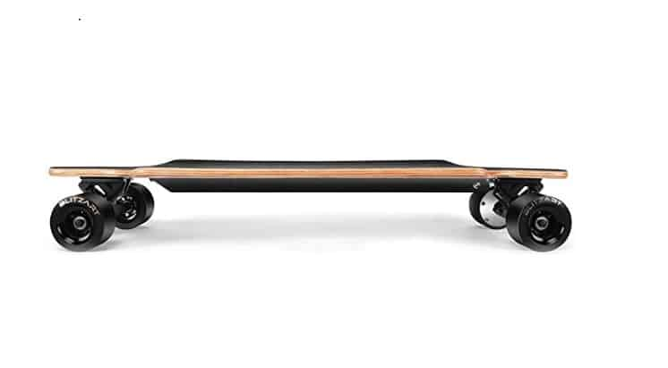 parts and components of electric skateboard